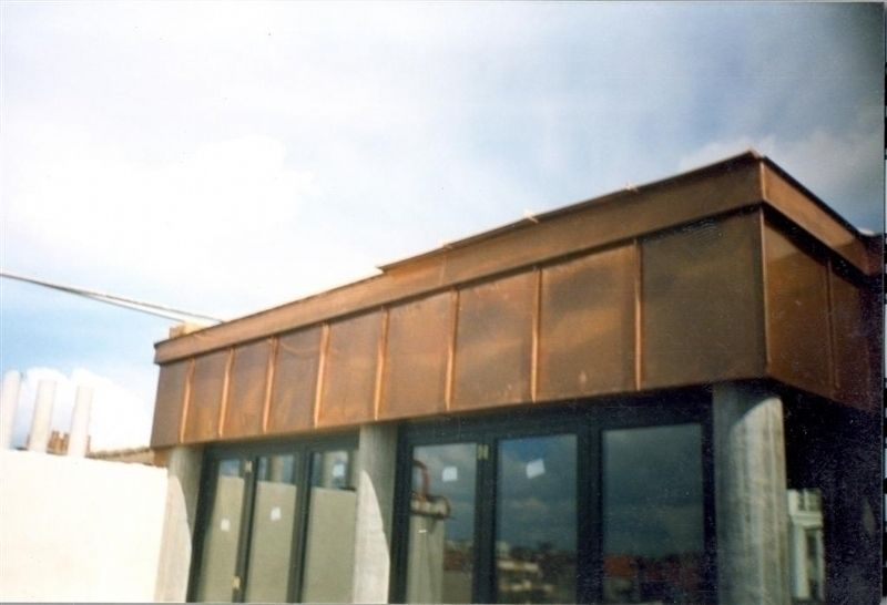Zingueur bruxelles zinguerie toiture castro for Feuille de cuivre toiture